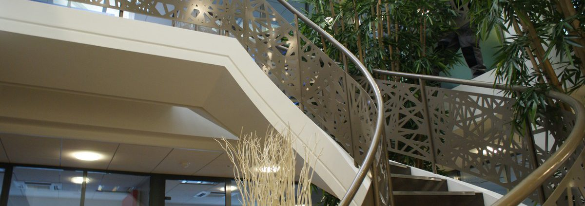 Sliding sunshades and balustrades