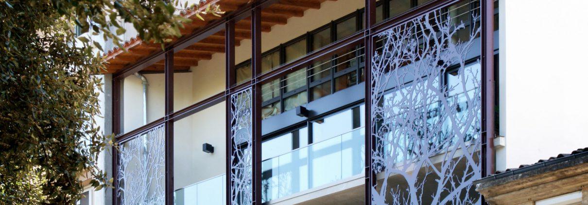 France r sille la d coupe jet d 39 eau servant l 39 architecture for Architecte toulouse maison individuelle