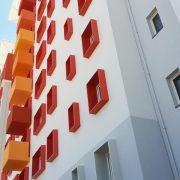 Parement de facade SNI TEISSEIRE à Marseille