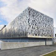 Parement de facade Commissariat de Saint-Chamond