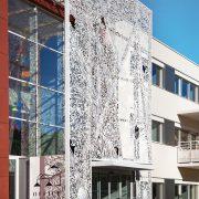 Parement de facade Office notarial de Baillargues