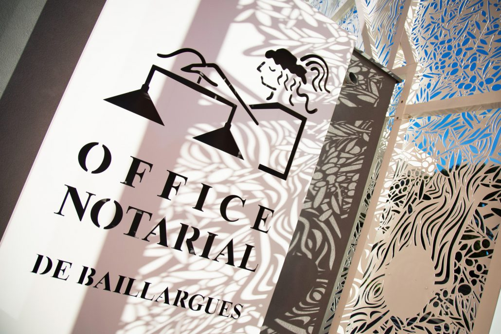 Signage - Office notarial de baillargues ...