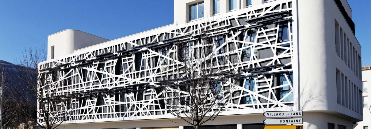 France r sille la d coupe jet d 39 eau servant l 39 architecture for Immeuble bureau architecture